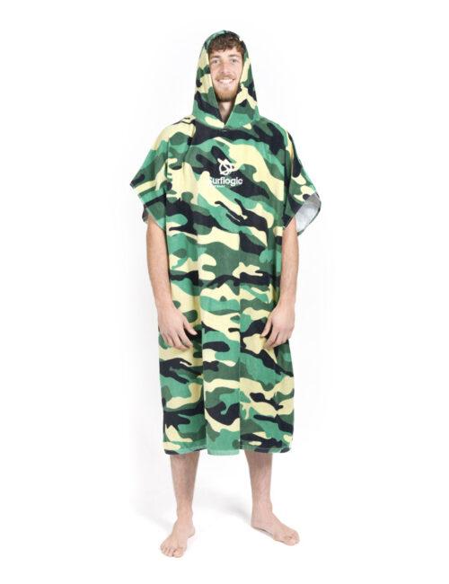 Poncho serviette de camouflage 01