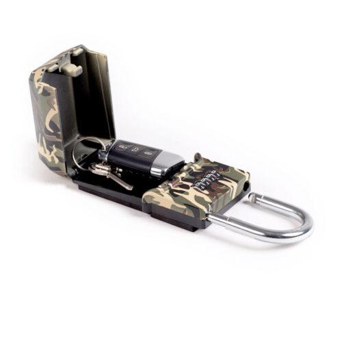 Cadenas boitier sécurité clés Standard Camouflage 01