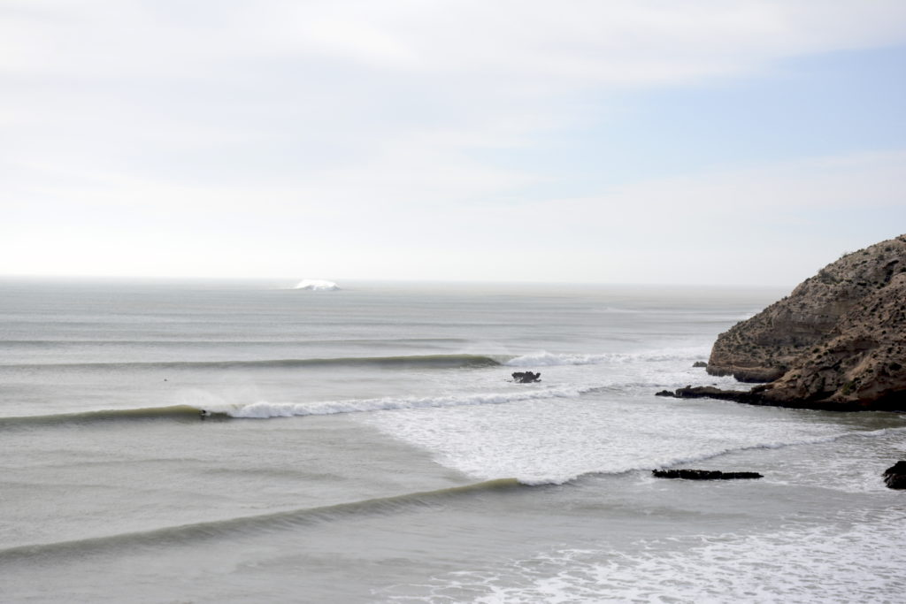 Moroccan surf spot