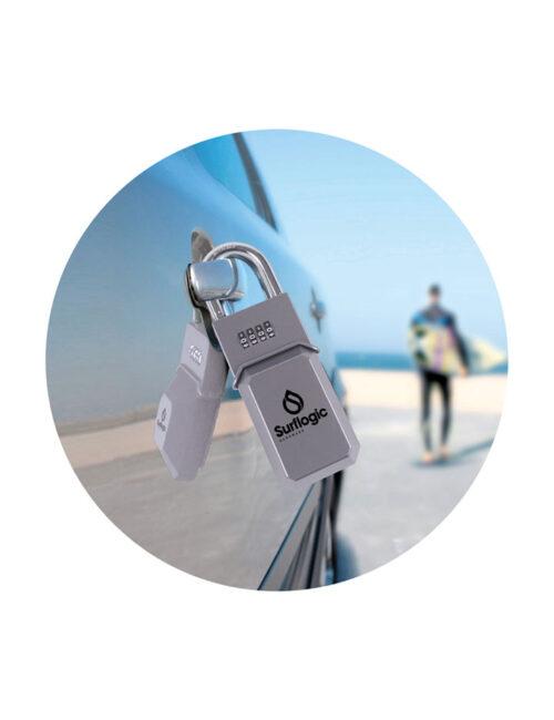 Key Lock Standard Silver