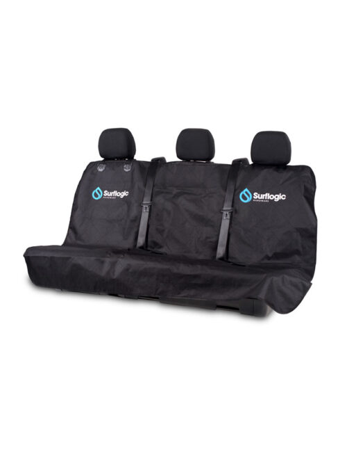 Waterproof car seat cover back seat clip system